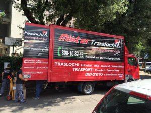 Affidati ai professionisti del traslochi Roma, MISTER TRASLOCHI