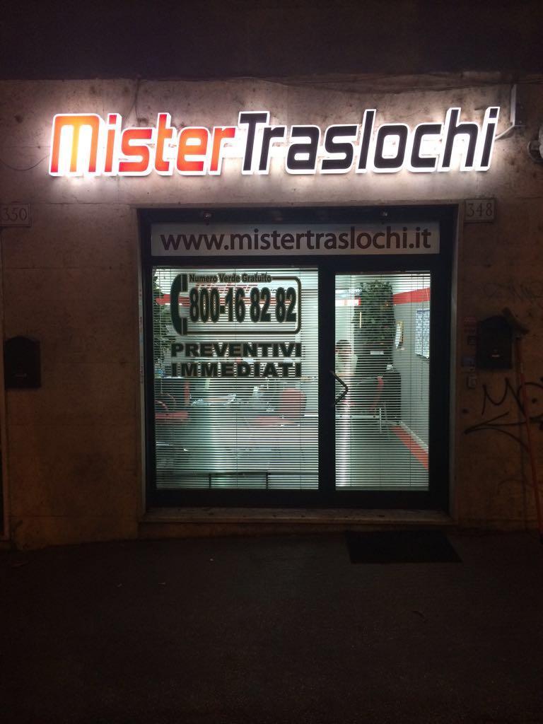 Mister Traslochi da sempre Traslochi Roma e non solo.